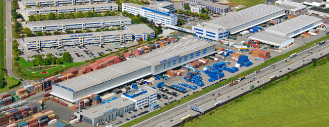 LKW WALTER - Premises of the WALTER GROUP in Vienna/Wiener Neudorf