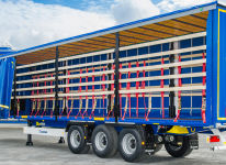 WALTER LEASING - 13.6 m cranable trailer