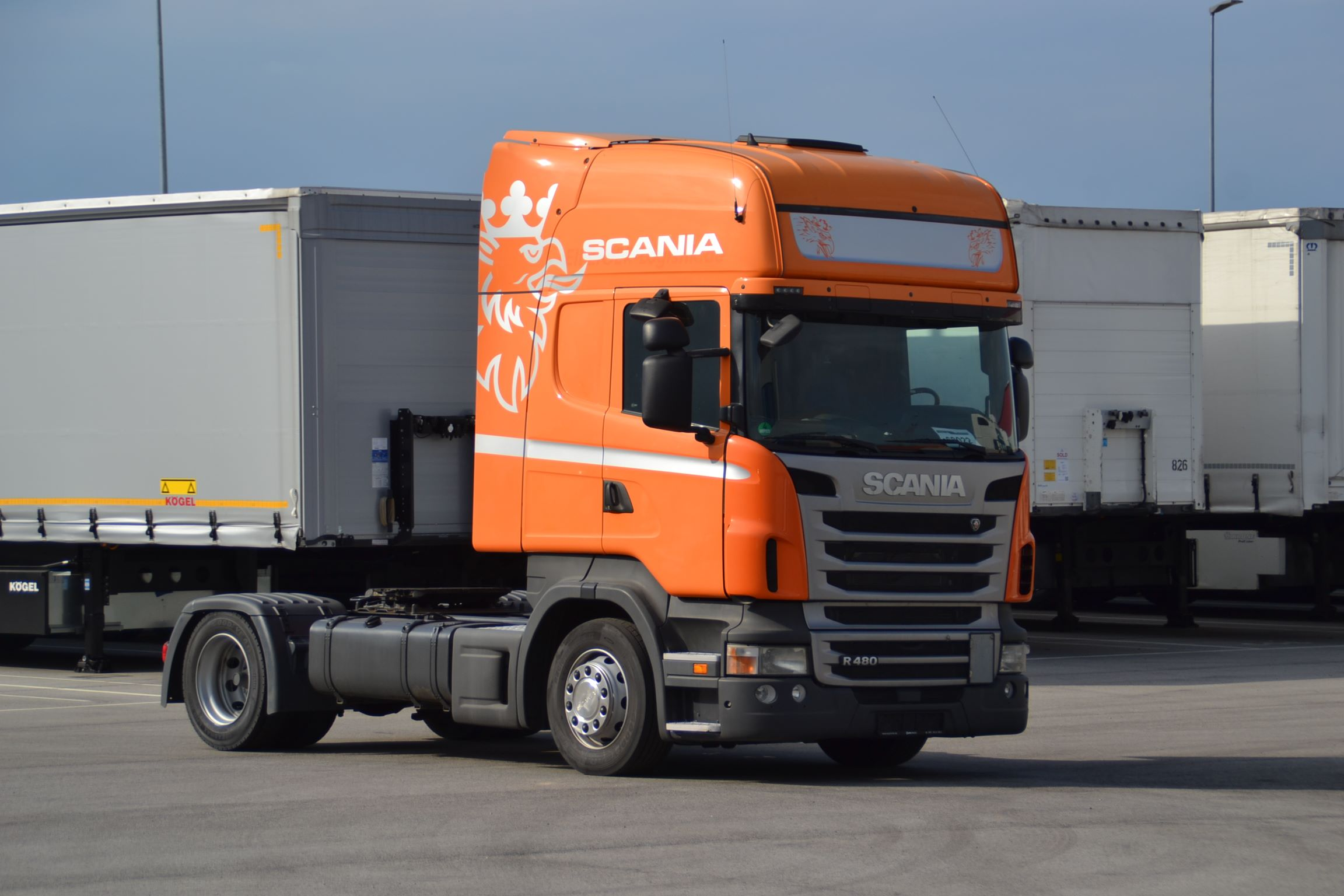 Scania Mega tractor unit 068022-1