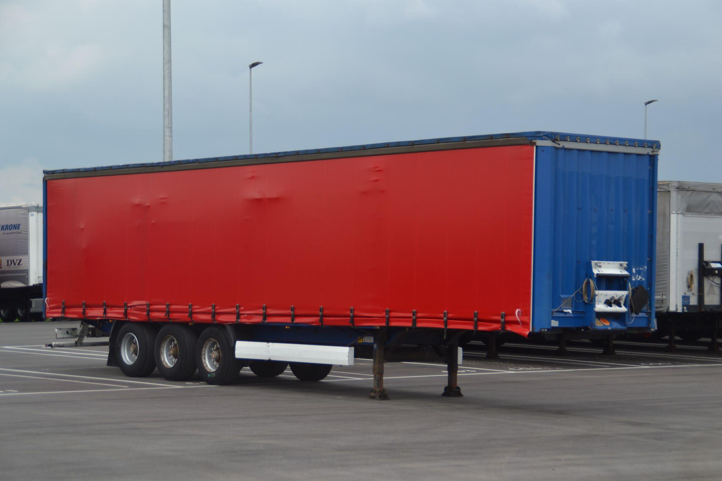 Buy used Krone trailers - WALTER LEASING