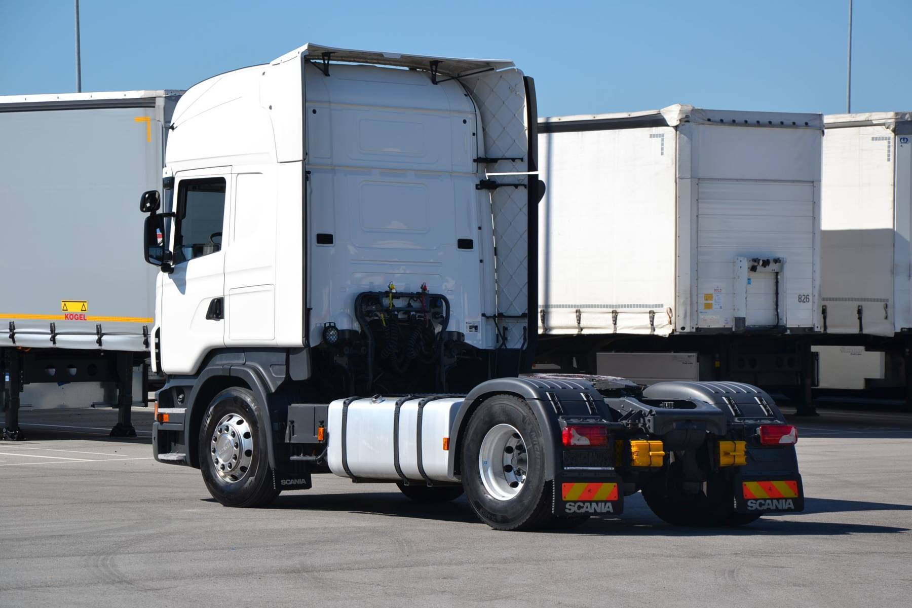 Scania HGV tractor unit R420 - used 1