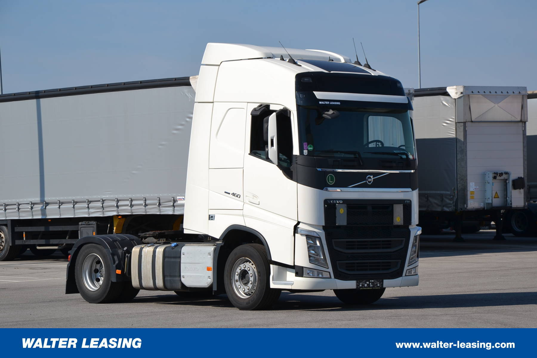 Volvo HGV Tractor Unit FH460 Used WALTER LEASING