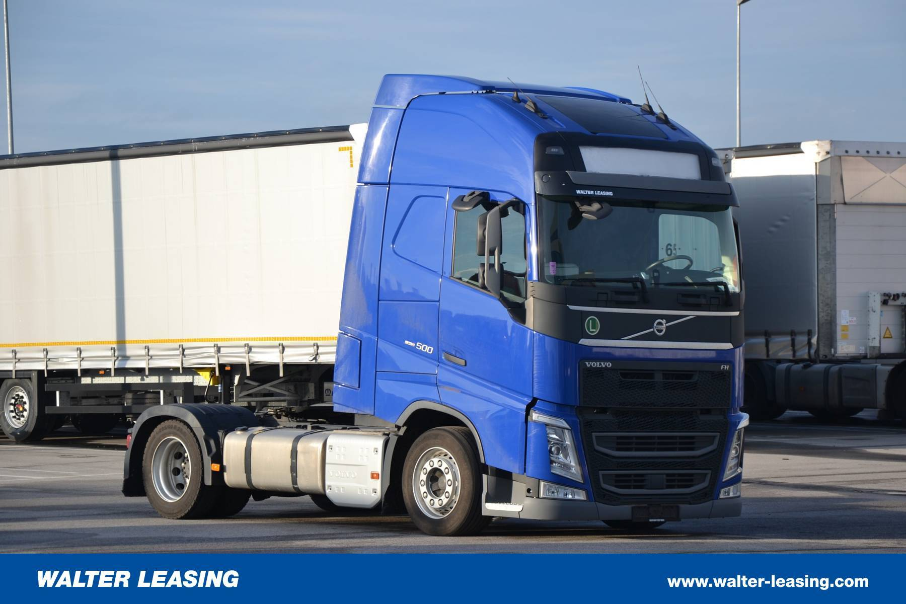 Volvo Mega Tractor Unit FH 500 4x2 Used WALTER LEASING