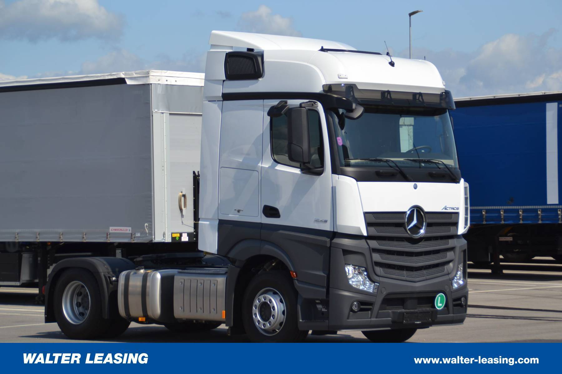 Mercedes Benz HGV Tractor Unit Actros 1845 New WALTER LEASING