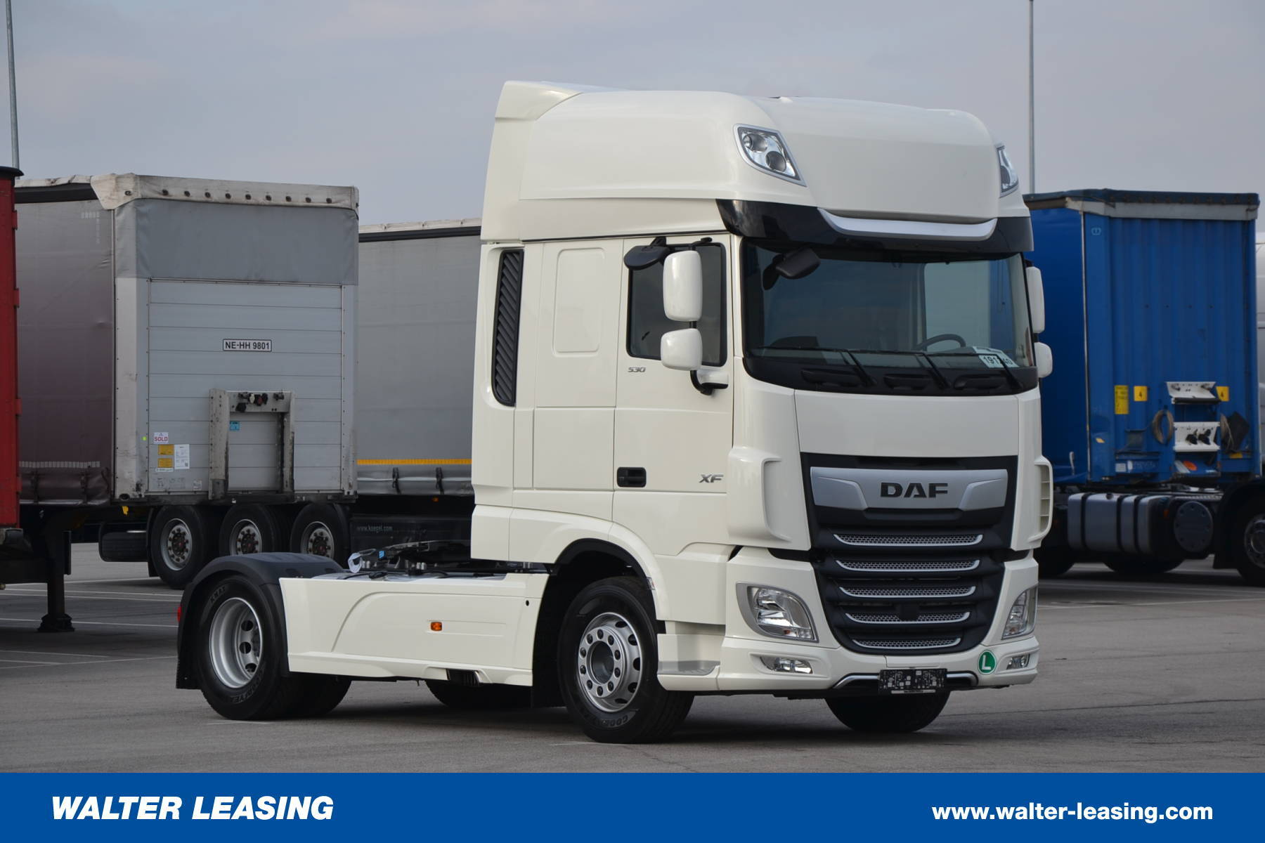 daf hgv tractor unit xf 530 ssc euro 6 new walter leasing. Black Bedroom Furniture Sets. Home Design Ideas